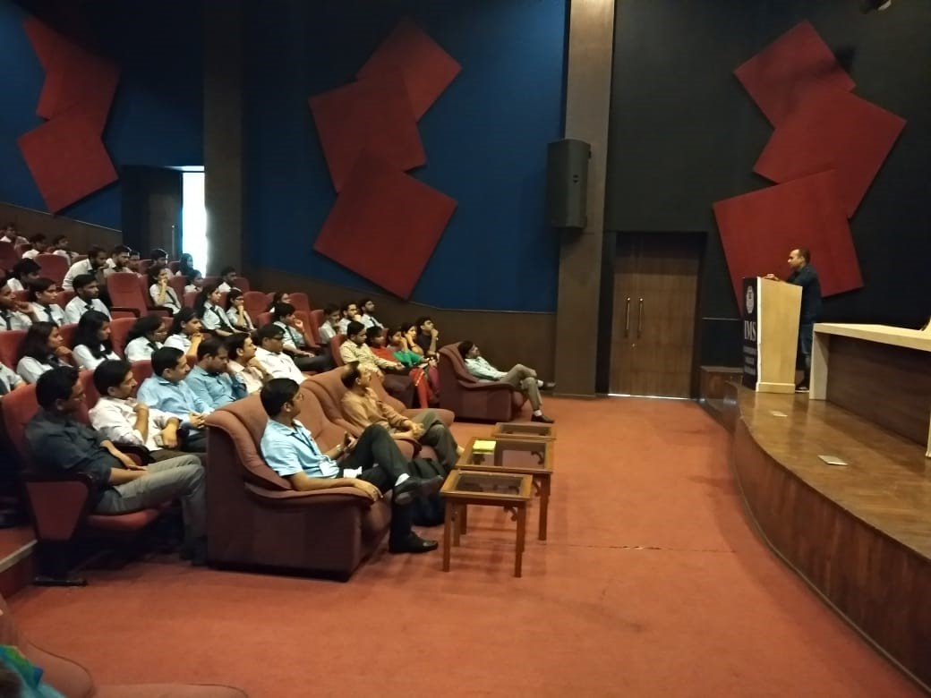 An Alumni Interaction Session by Mr. Ankit Rathore