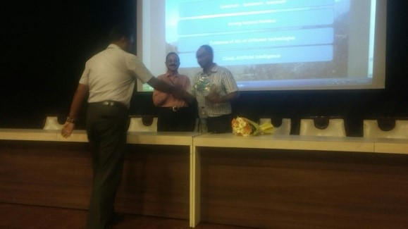 The Guest Lecture on Recent Technology Trends in Telecommunication and IOT