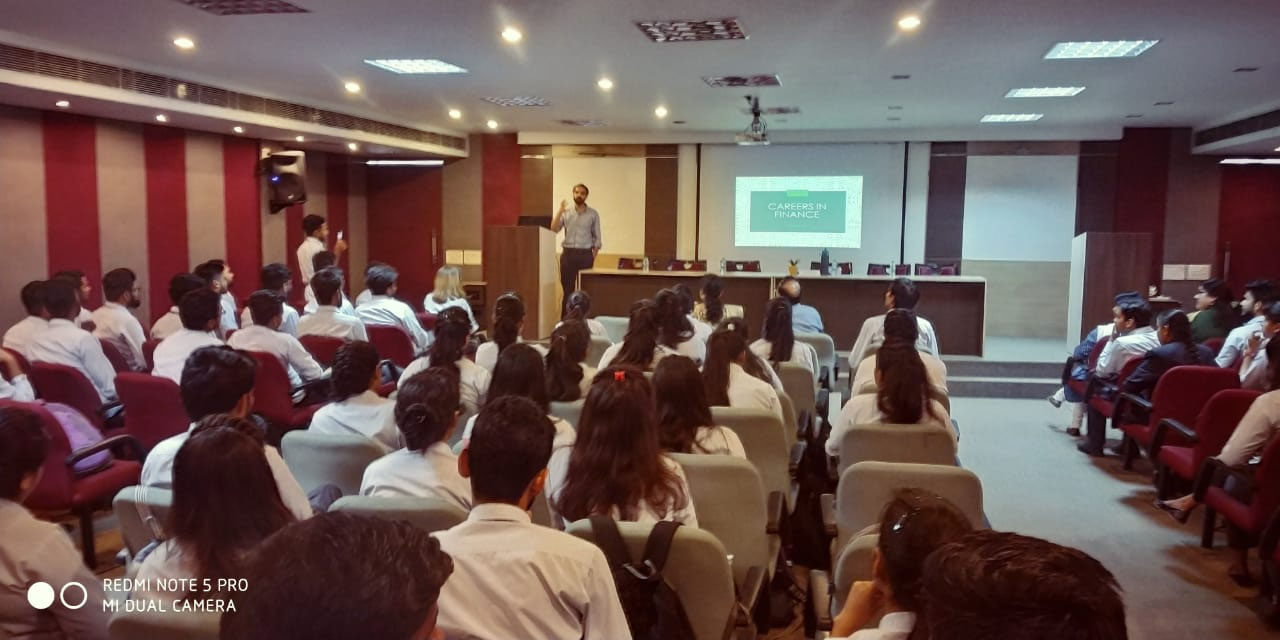 Guest Lecture by Mr. Anuj Dayal (23 March 2019)