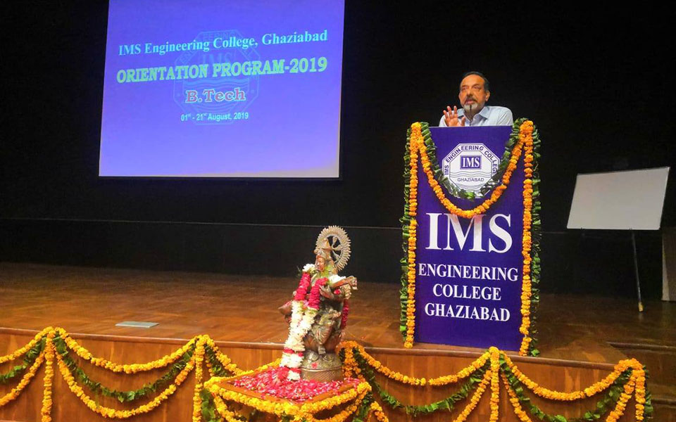 Applied Sciences & Humanities Department successfully organizes a 21 day Orientation Programme every year to welcome the first year B. Tech. students.