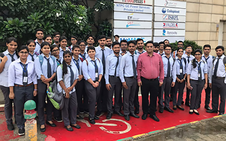 Industrial Visit on 10 Aug 2018