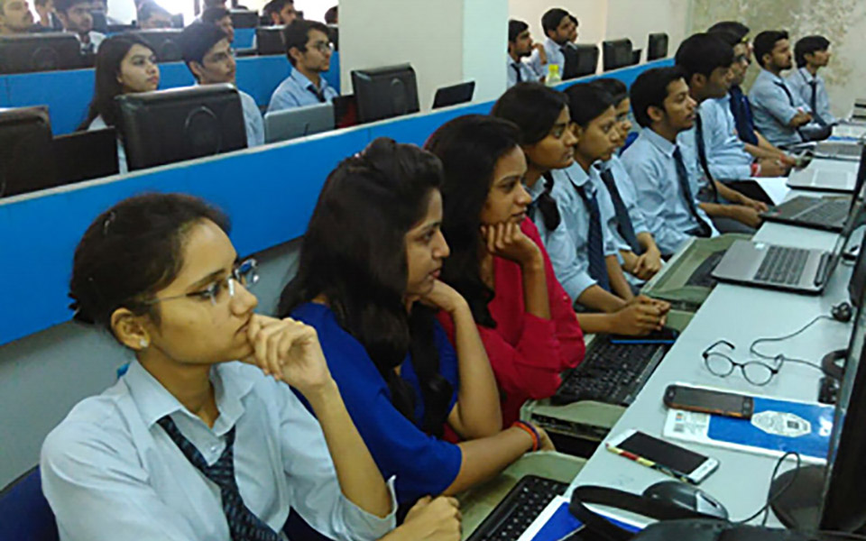 Workshop on Linux Admistration was organized by the department on 17/03/2018