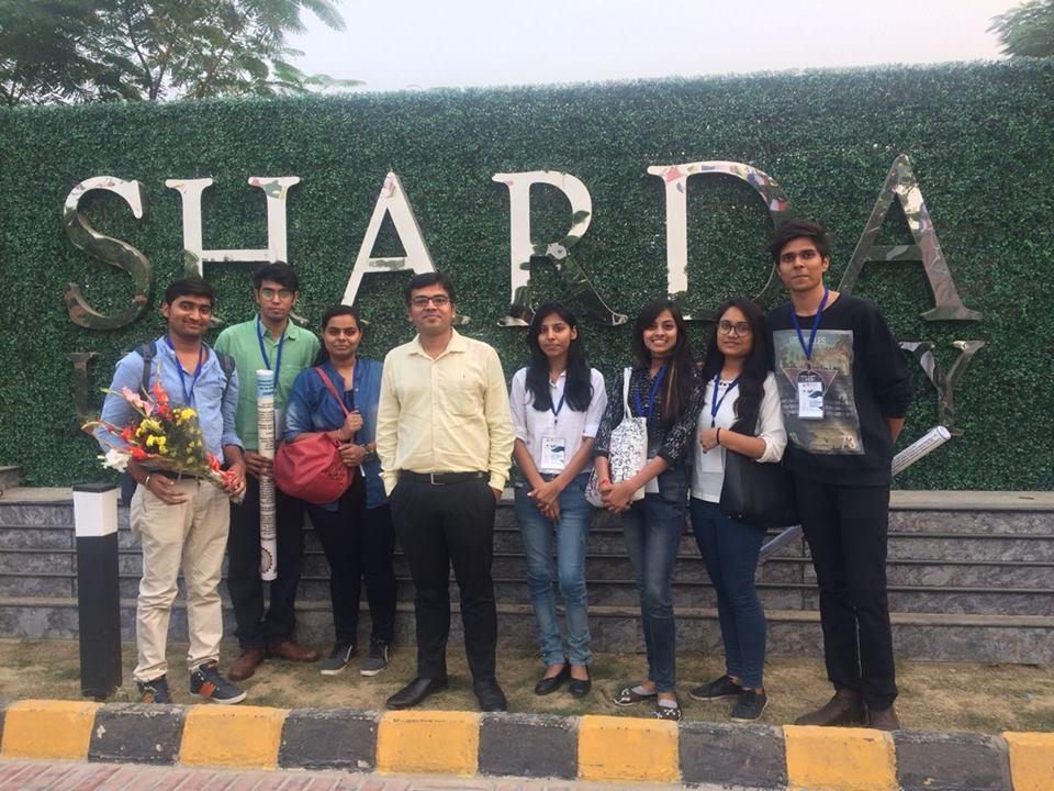 Conference at Sharda University