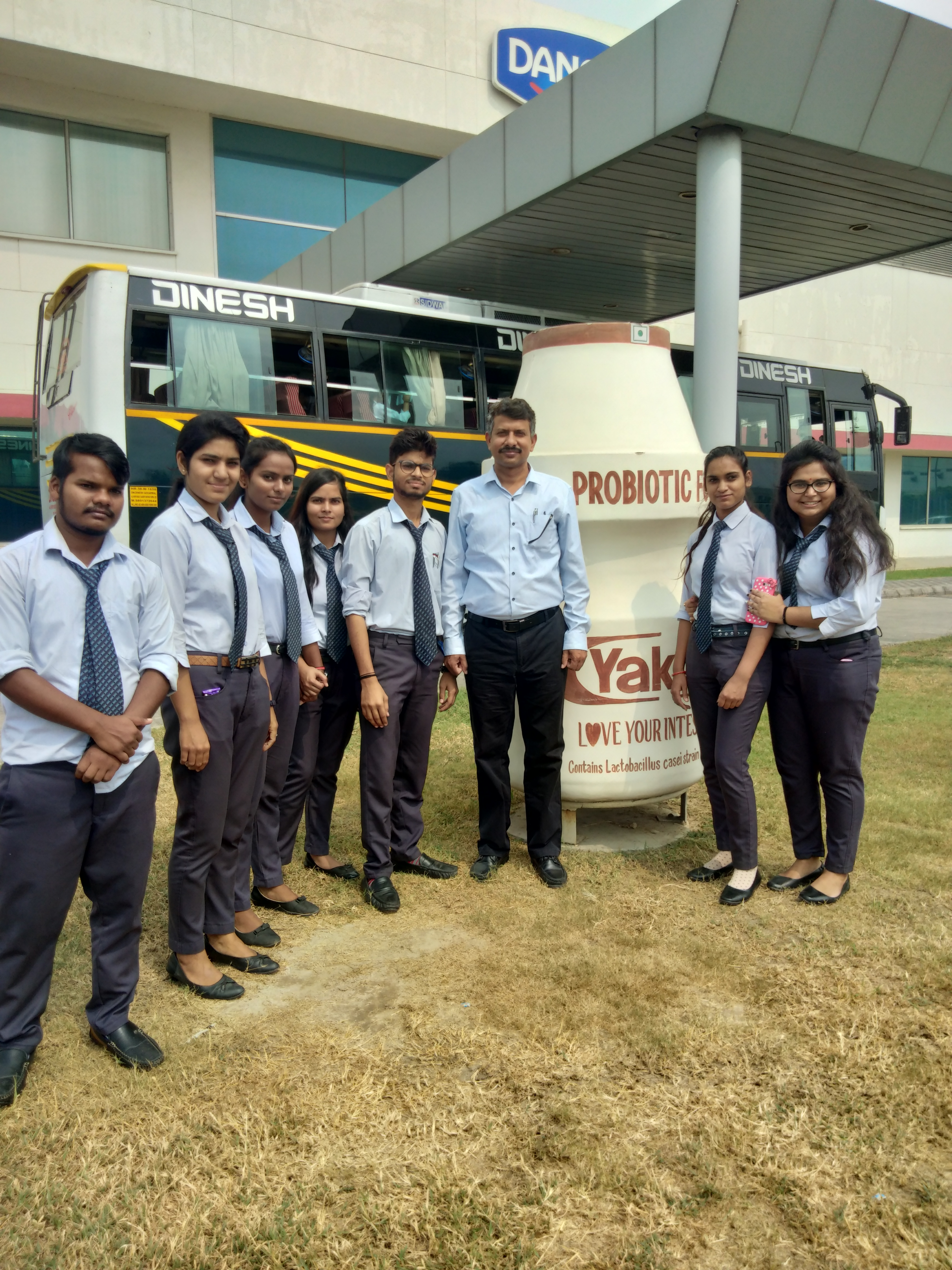 Industrial Visit at Yakult, Sonipath