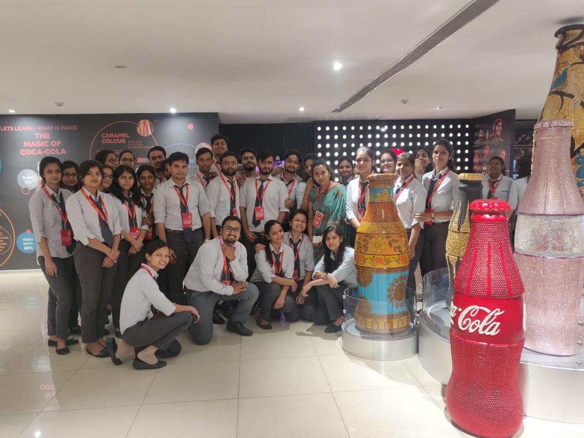 Industrial Visit at Coca Cola