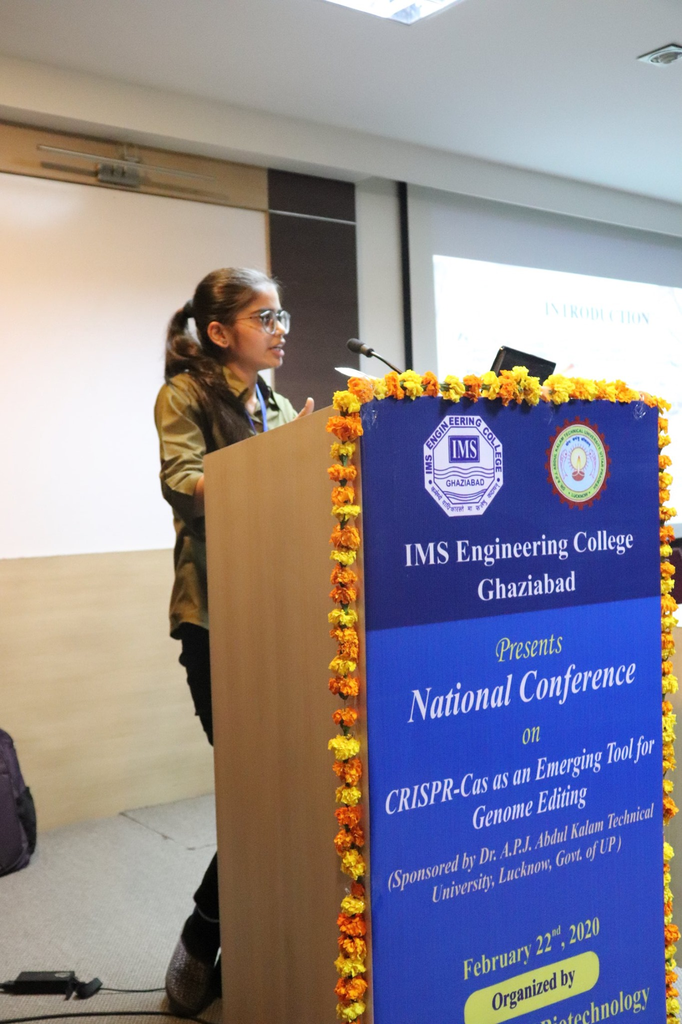 National Conference on CRISPR on 22nd February 2020