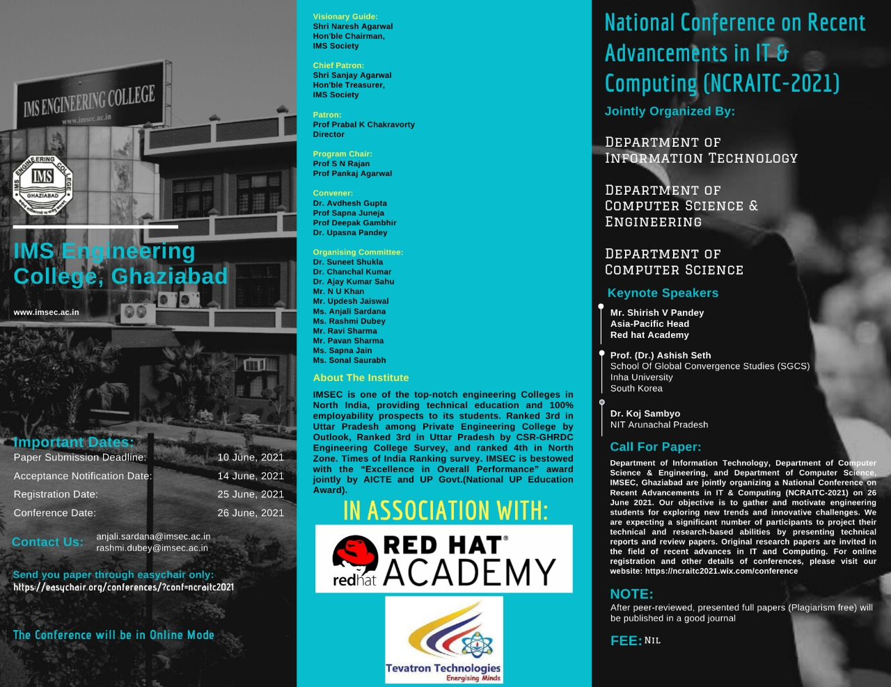 National-Conference-NCRAITC-2021-Leaflet